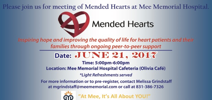 Mended Hearts UPDATED June 21st