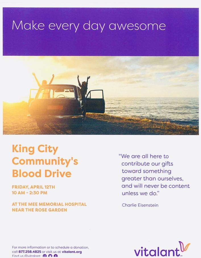 2019 Blood Drive